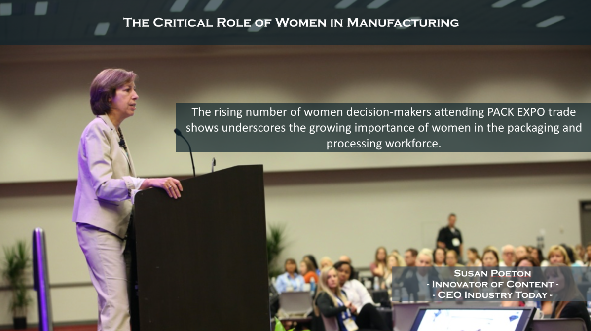 The Critical Role of Women in Manufacturing