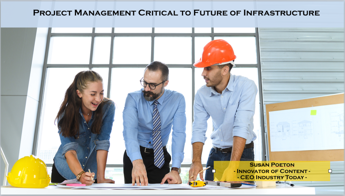 Project Management Critical to Future of Infrastructure