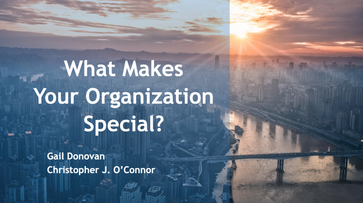What makes your organization special?
