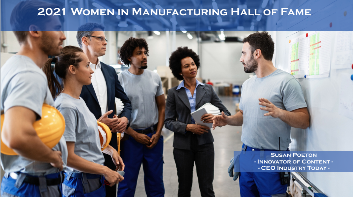 2021 Women in Manufacturing Hall of Fame